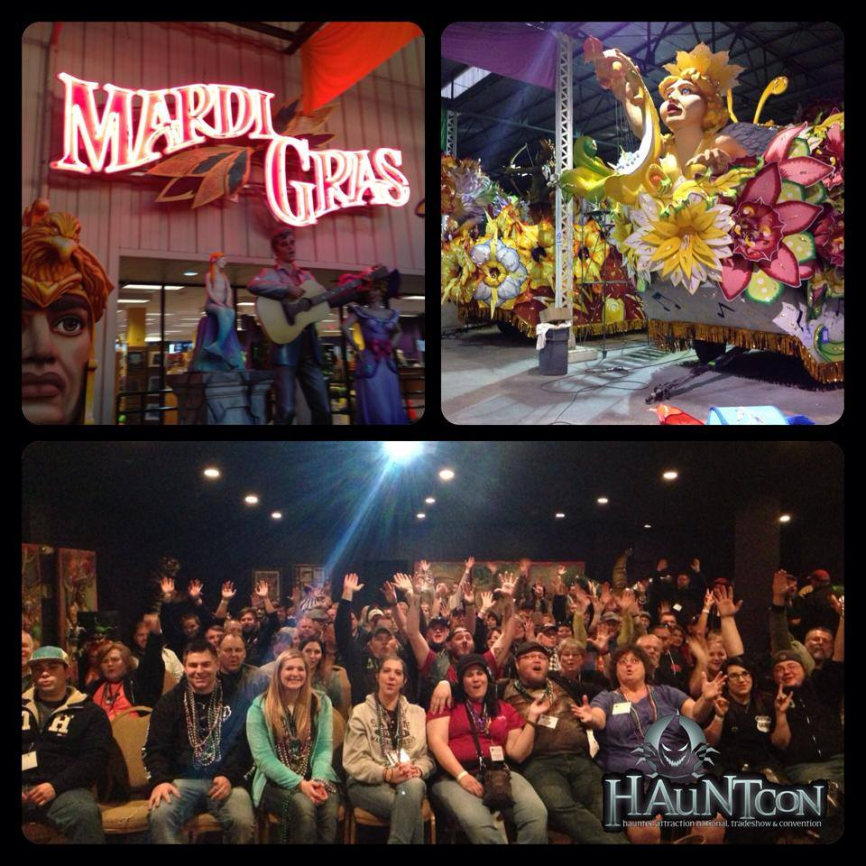 hauntcon 2015 mardi gras world