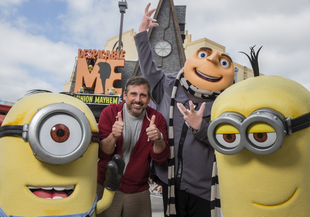 Steve Carell Visits Universal Orlando Resort_3.31.15