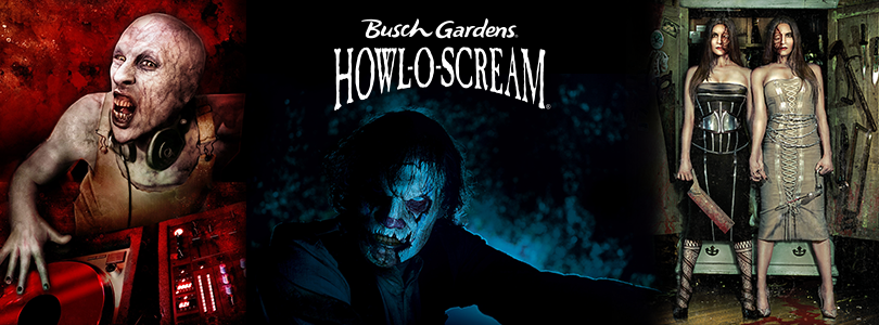 Behind The Thrills Choose Your Favorite Howl O Scream Icon To Pose With At Busch Gardens Tampa