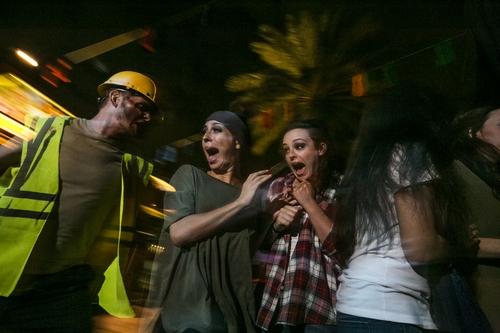 Slash Mobs at Howl-O-Scream Busch Gardens Tampa
