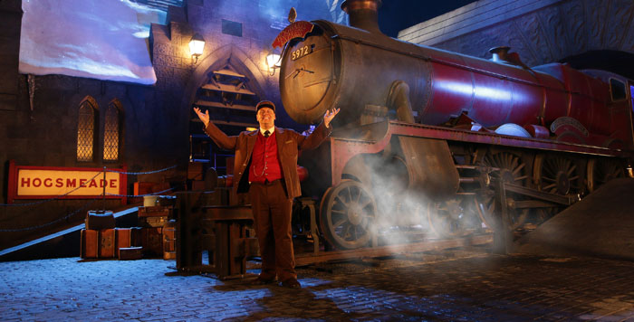 Hogwarts Express Conductor - WWoHP at USH