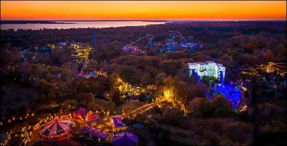 the landscape of busch gardens williamsburg makes it the perfect place to spend the holidays with tons of shows just for christmas town - Christmas Town Busch Gardens Williamsburg