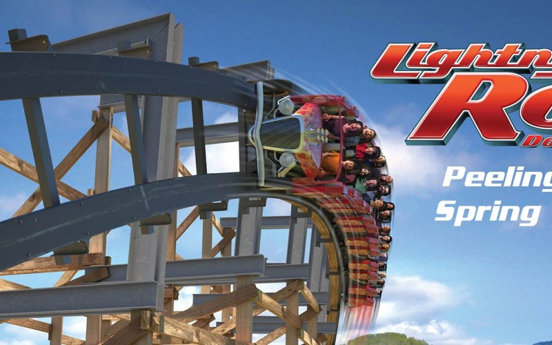 Dollywood's New Wood Coaster, Lightning Rod, Closed After Recall