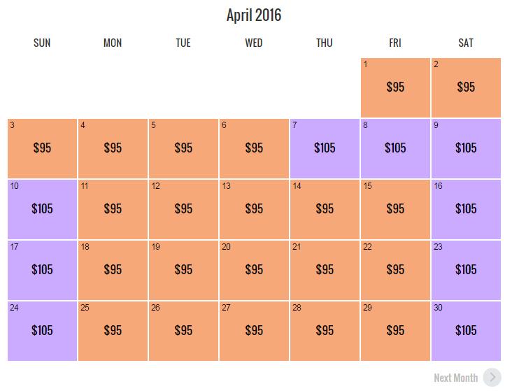 USH Ticket Pricing New