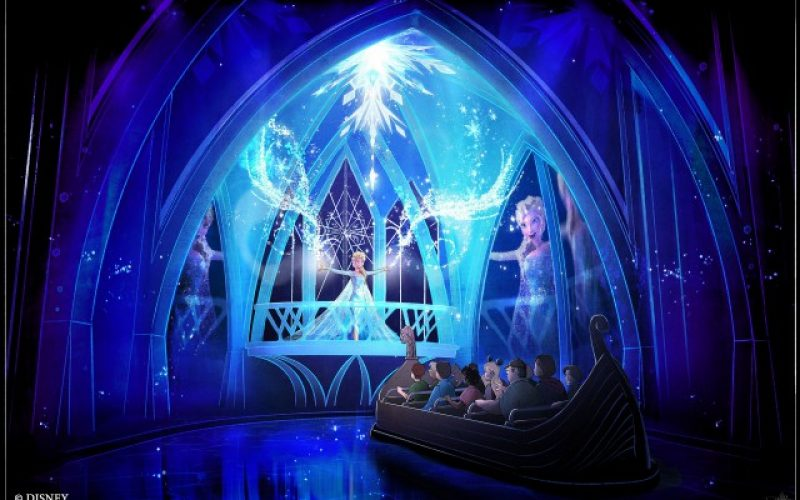 Frozen is coming this June to Epcot, more details on the first ever ride!
