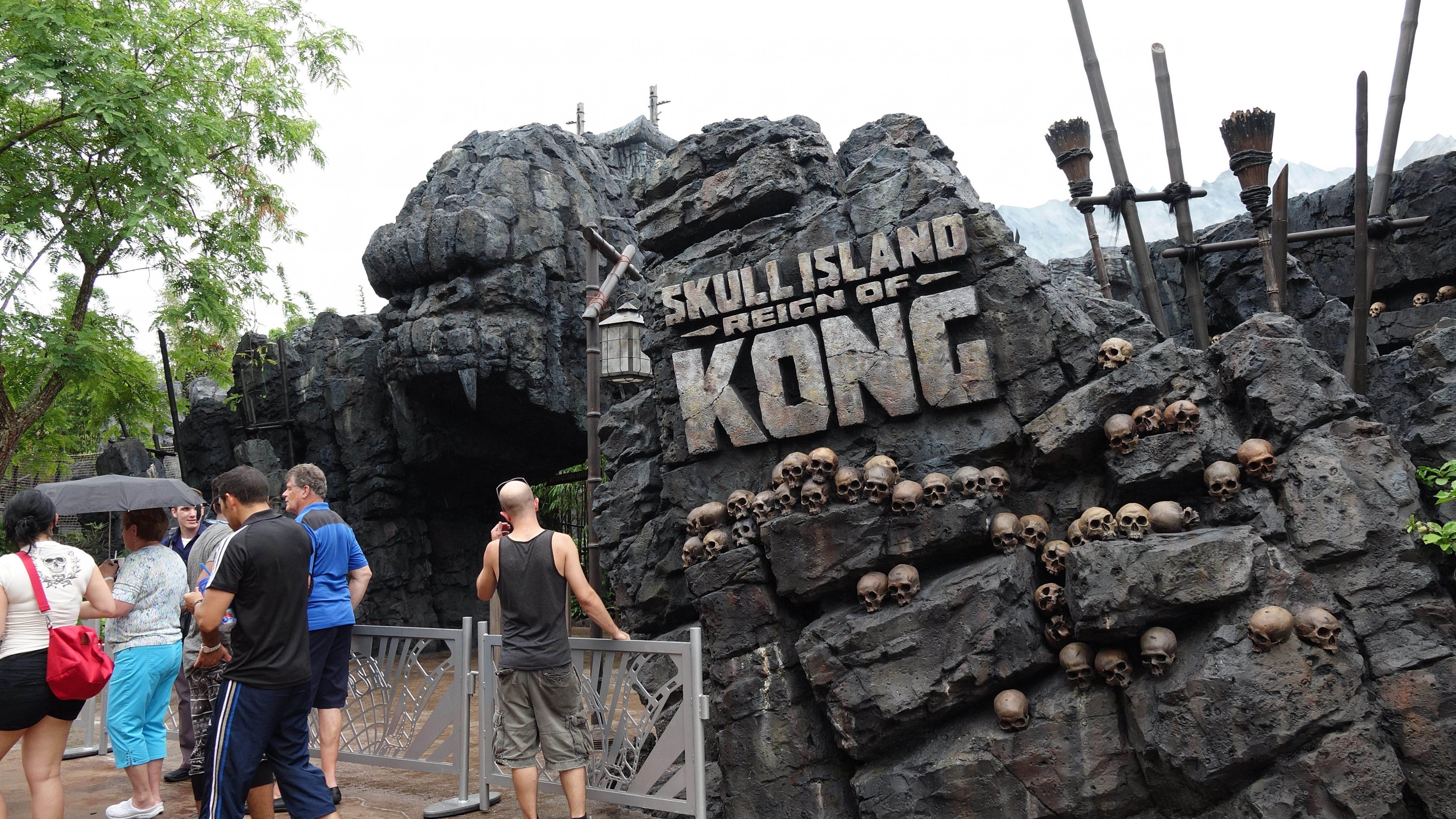 Skull Island Entrance