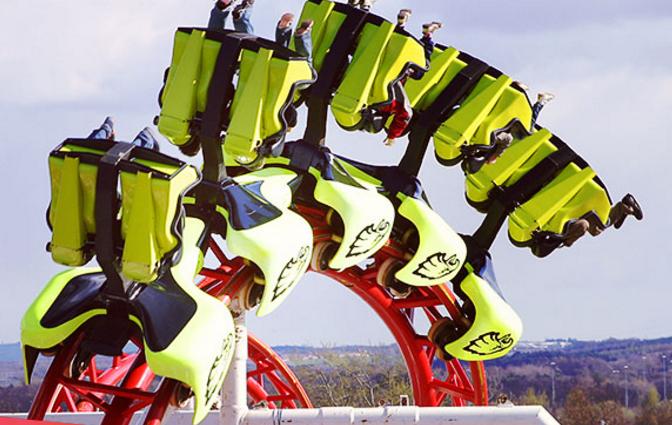 Behind The Thrills Coaster Derails At Scotland S M D