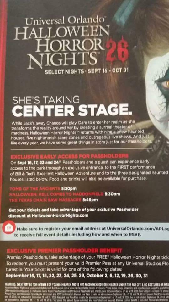 credit hnnightmares - Halloween Horror Nights Free Tickets