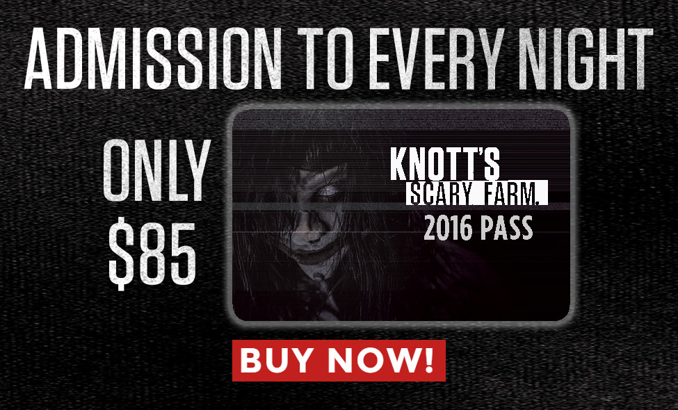 Scary Farm Ticket Offer Sliders