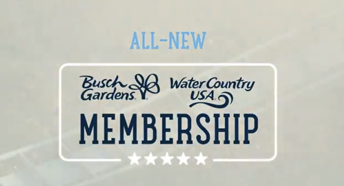 Donu0027t Call It An Annual Pass, Not Anymore. Today Busch Gardens Williamsburg  Has Rolled Out An All New U201cMembershipu201d Card Program That Will Replace The  ...