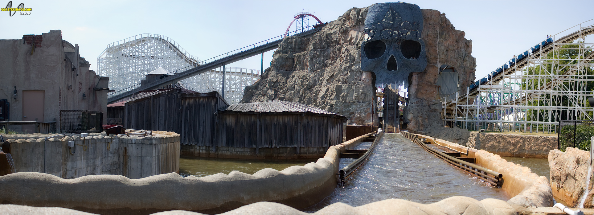 Six Flags America Prepares For Final Voyage Of Skull