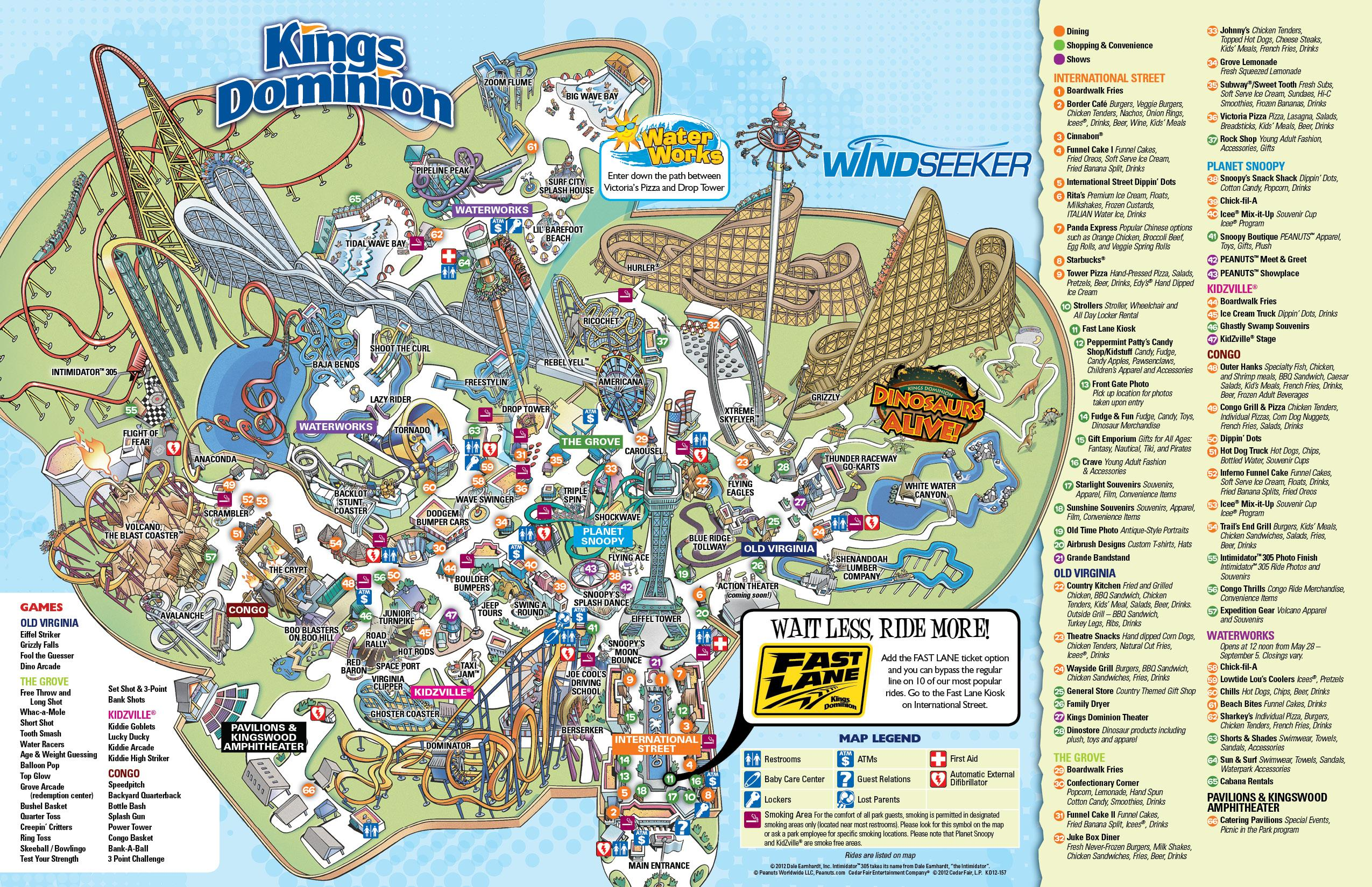 Behind The Thrills Kings Dominion