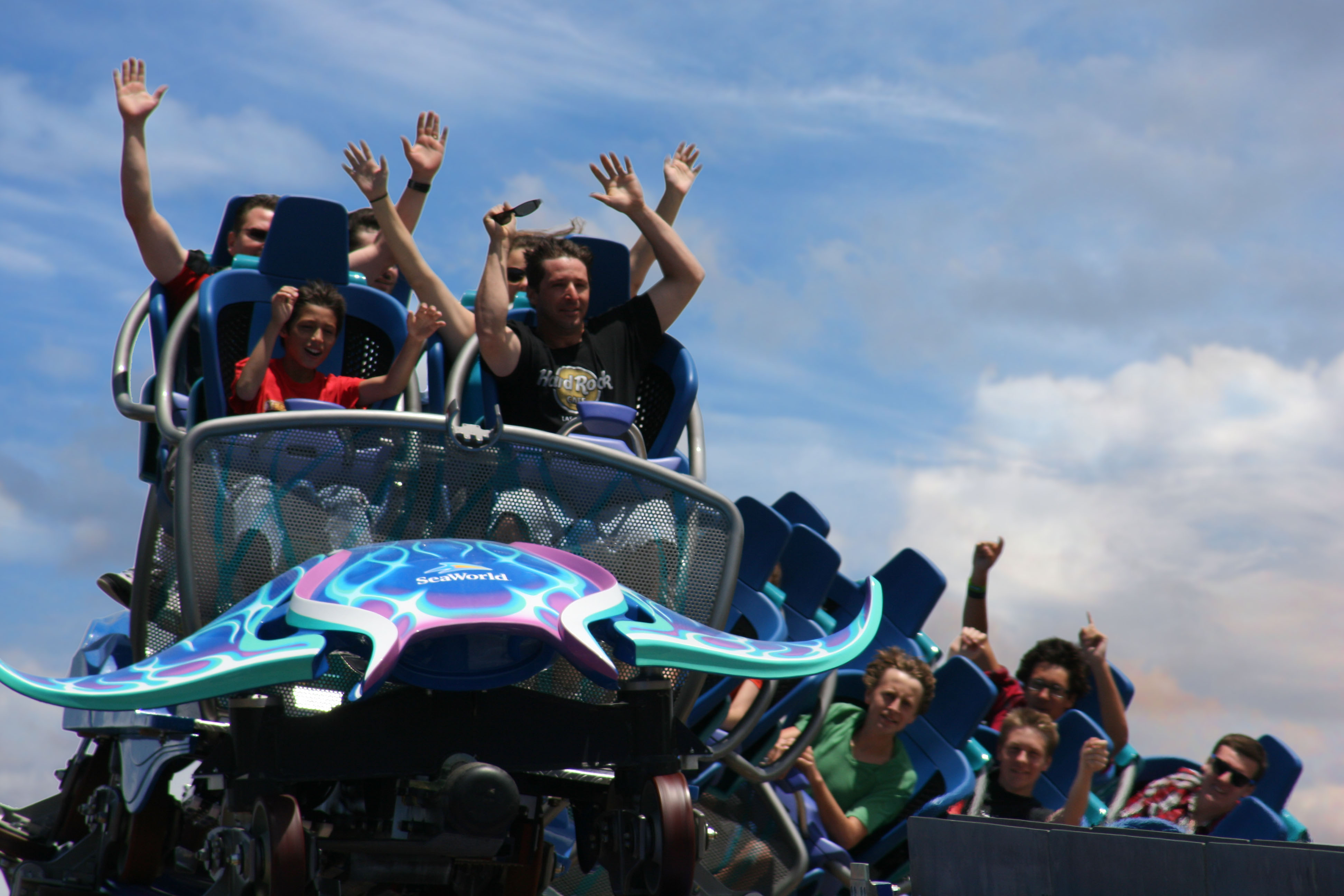 Behind The Thrills Seaworld San Diego S Manta Review