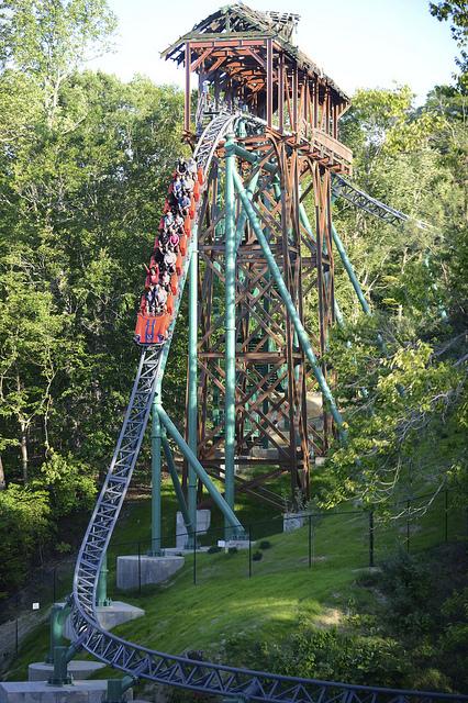 Behind the thrills best summer ever must ride roller - Busch gardens williamsburg rides ...