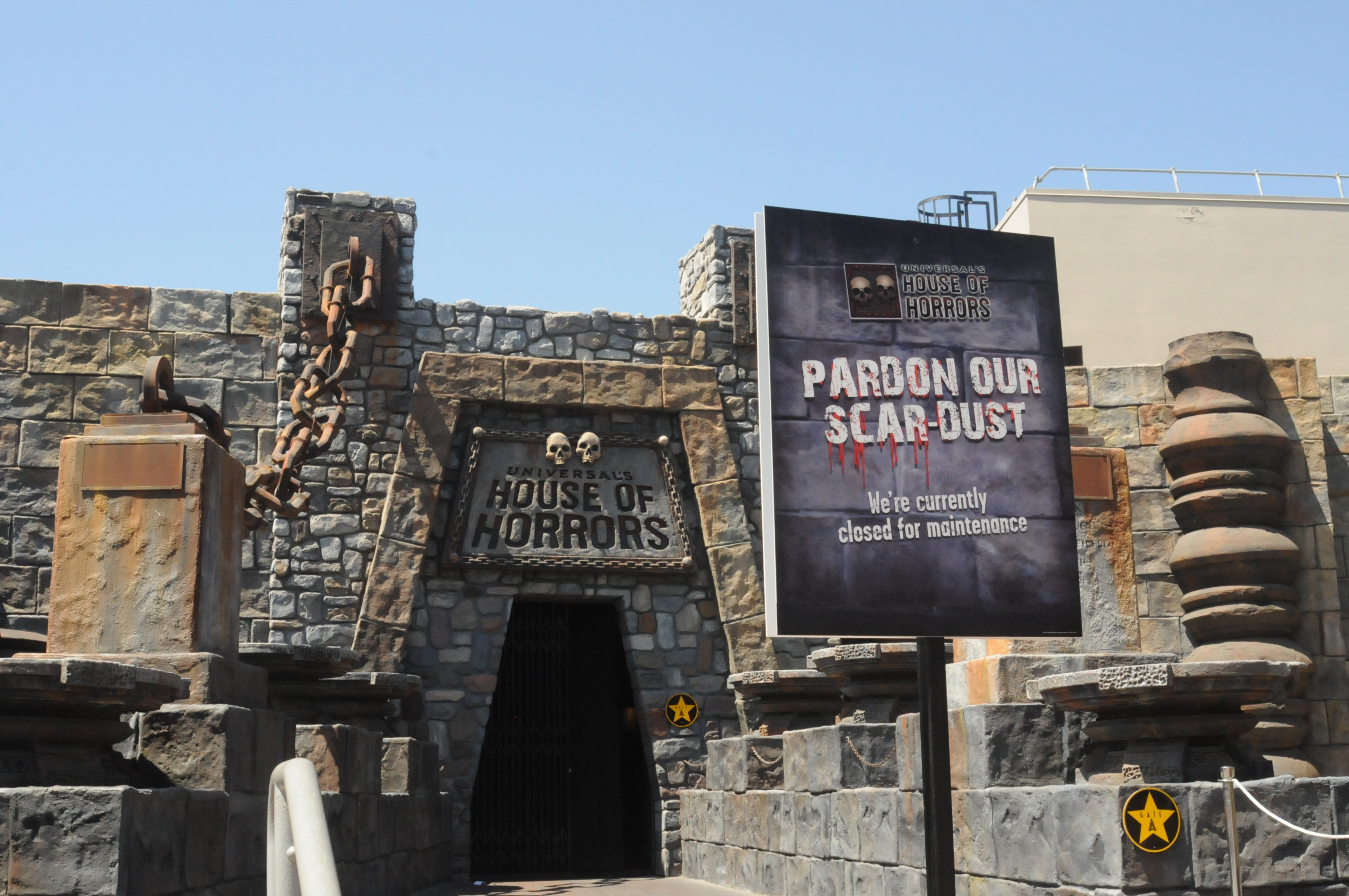 Universal Studios Hollywood Hhn Construction And Props