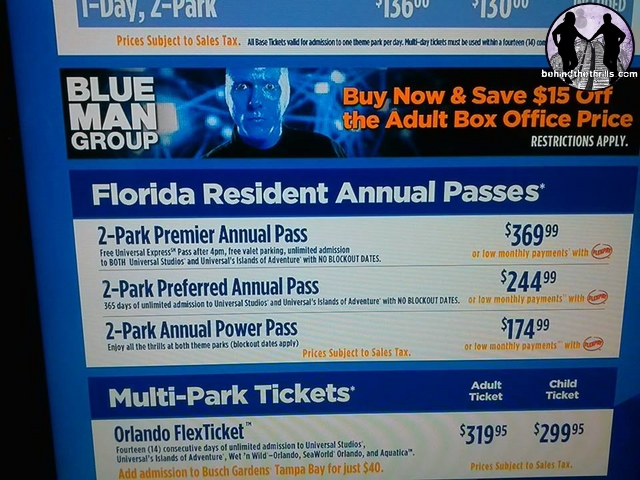 Behind The Thrills Universal Orlando Follows Disney Raises Ticket Prices At Gate Before Diagon Alley Brings Huge Crowds