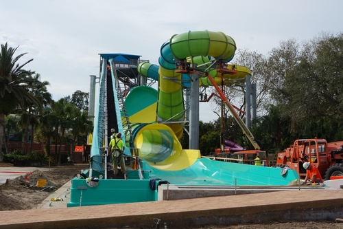 Adventure Island Tampa: Colossal Curl At Busch Gardens Tampa