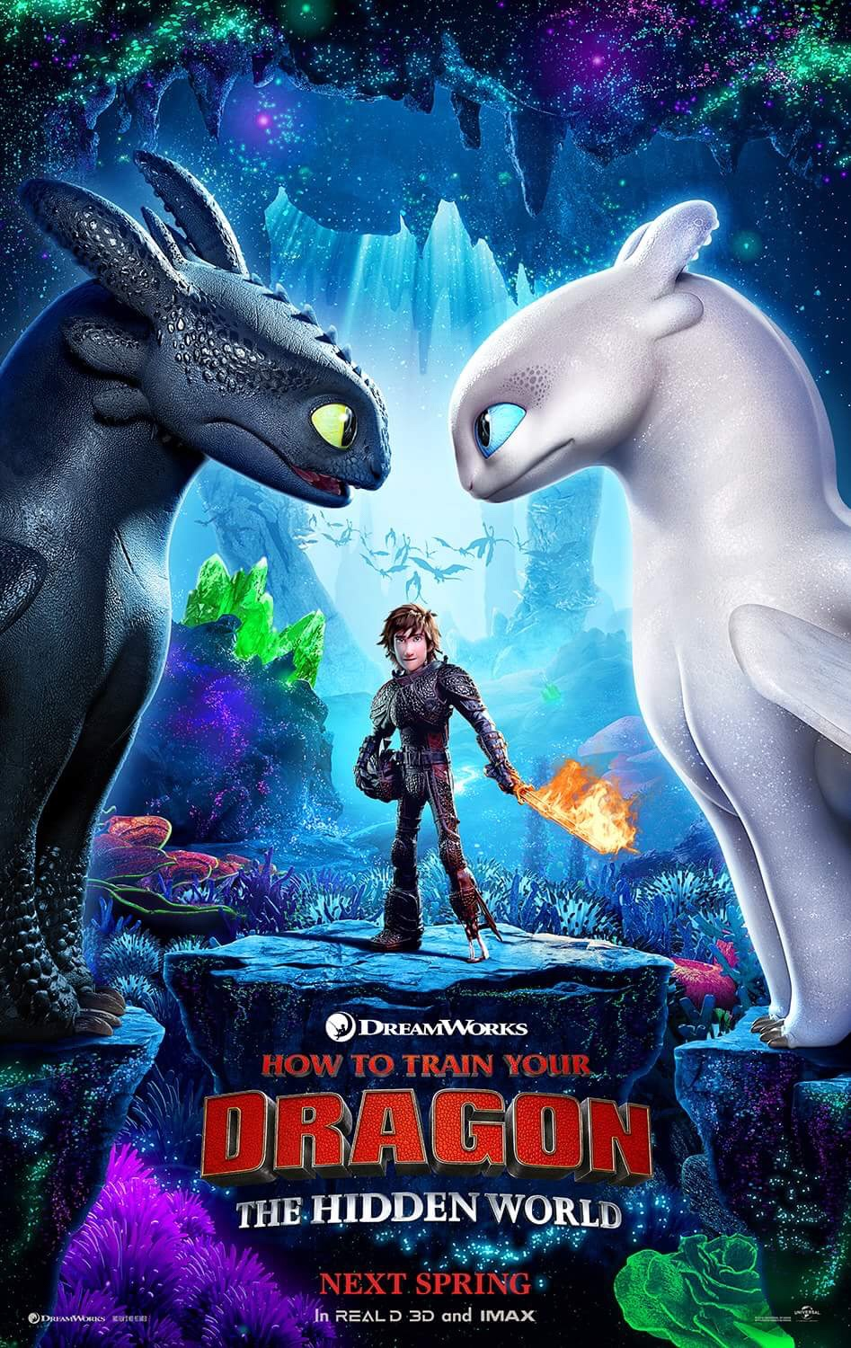 Behind the thrills how to train your dragon 3 gets first poster its been a while since weve heard too much from the third installment in the hit series how to train your dragon but things are picking up quick ccuart Choice Image
