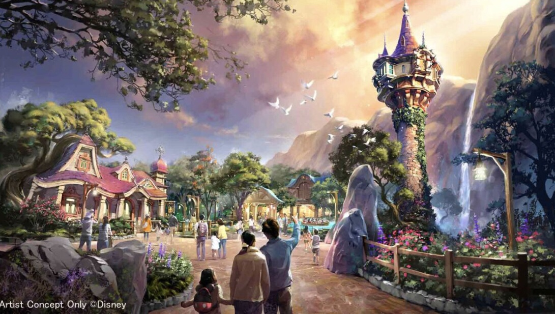 Gorgeous Tangled Themed Guest Rooms At Tokyo Disneyland: Tokyo DisneySea Getting Major