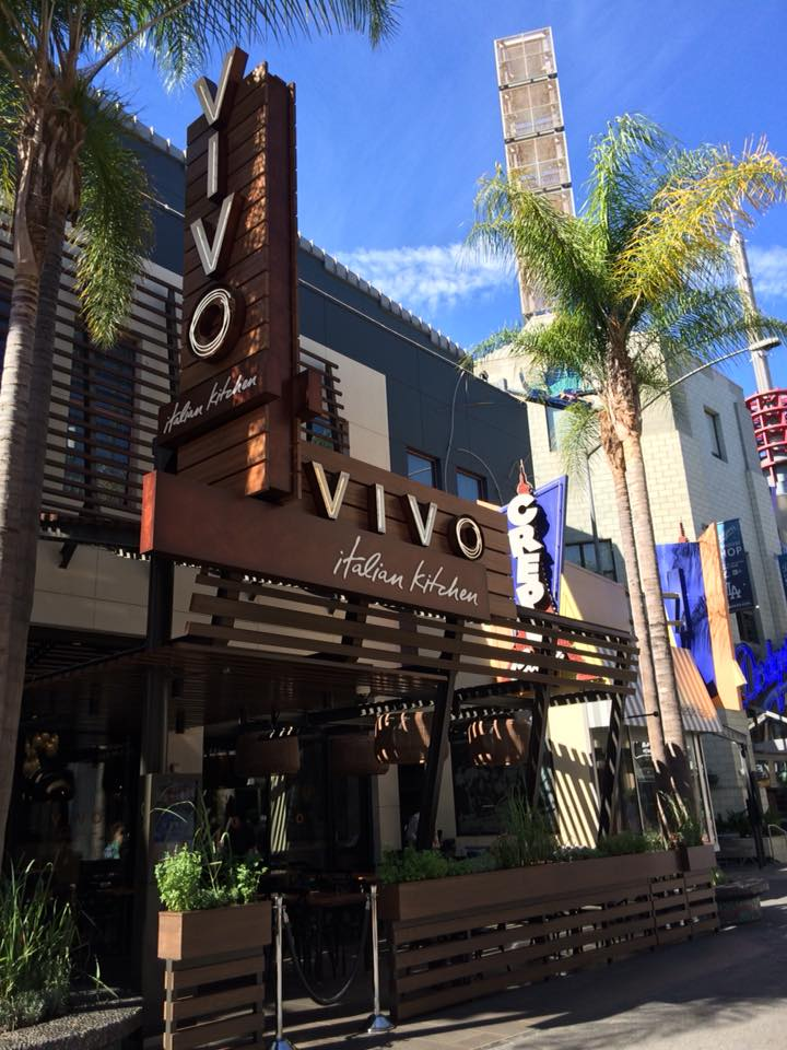 Behind The Thrills Vivo Italian Kitchen Opens At Universal Studios
