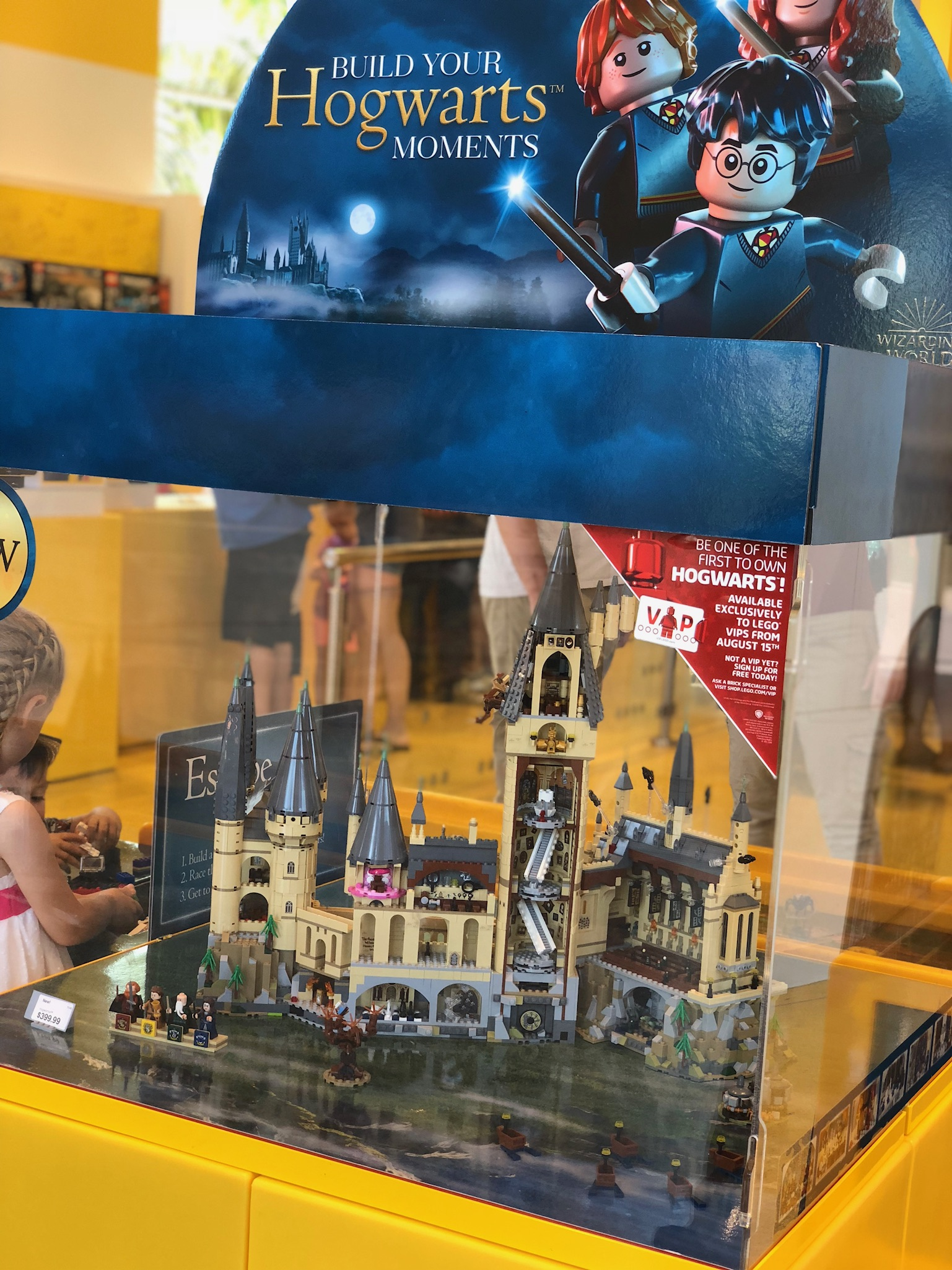 Behind The Thrills Lego Hogwarts Castle On Display At Disney