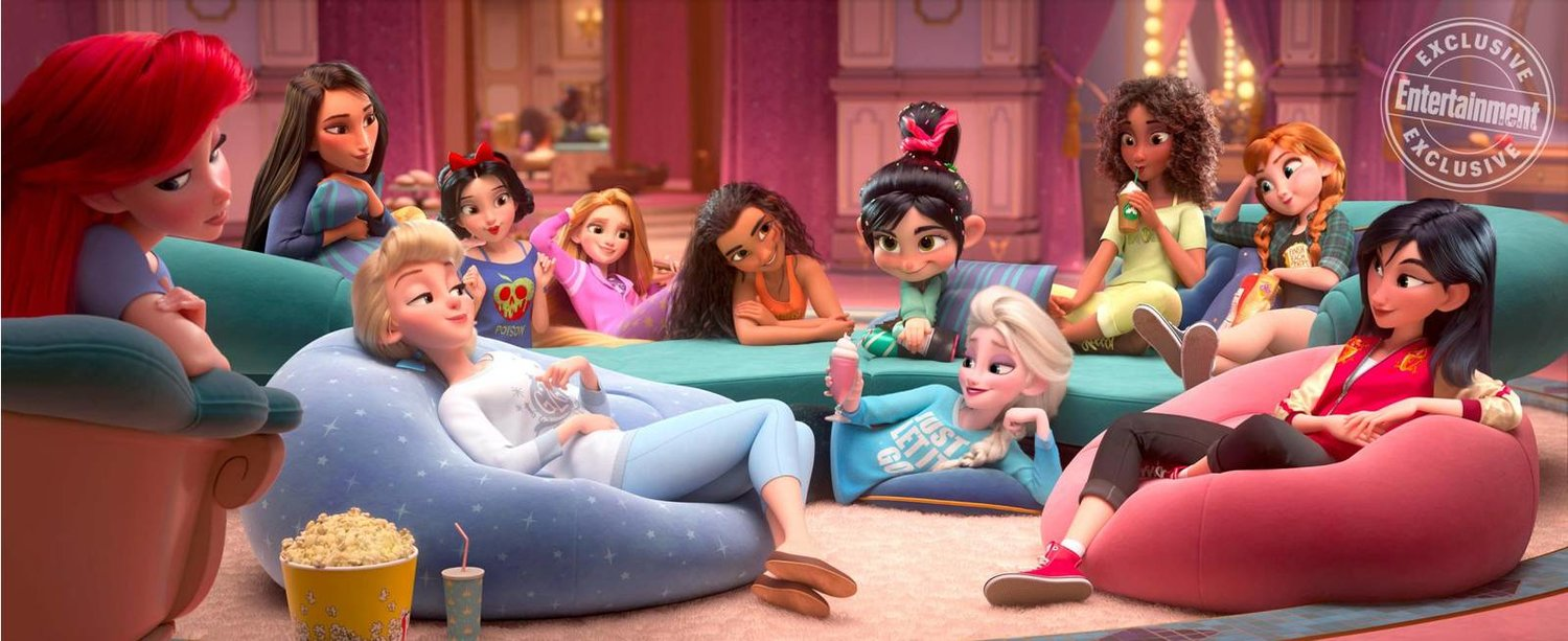 voices of wreck it ralph 2