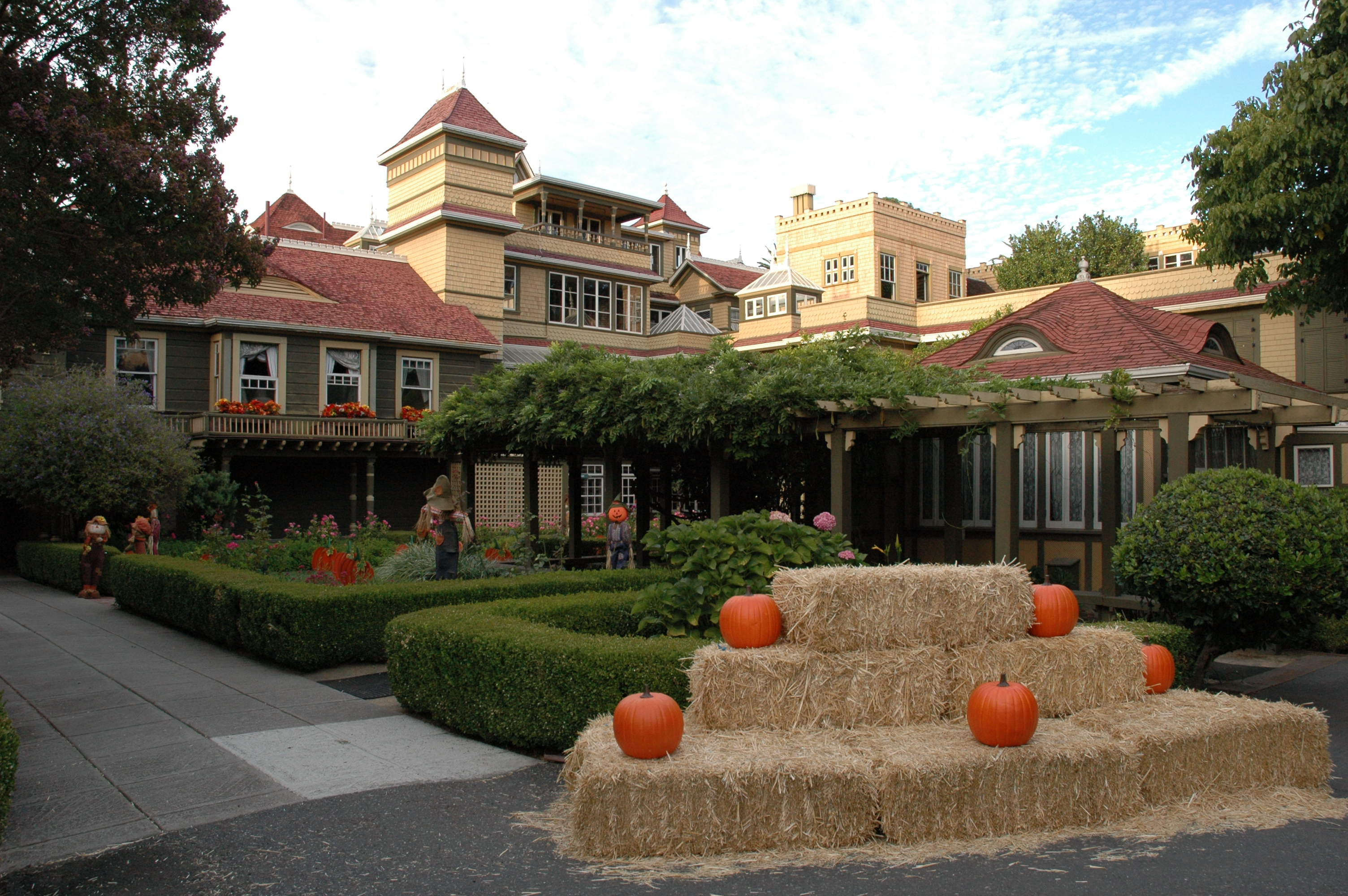 behind the thrills | winchester mystery house showcases the home's