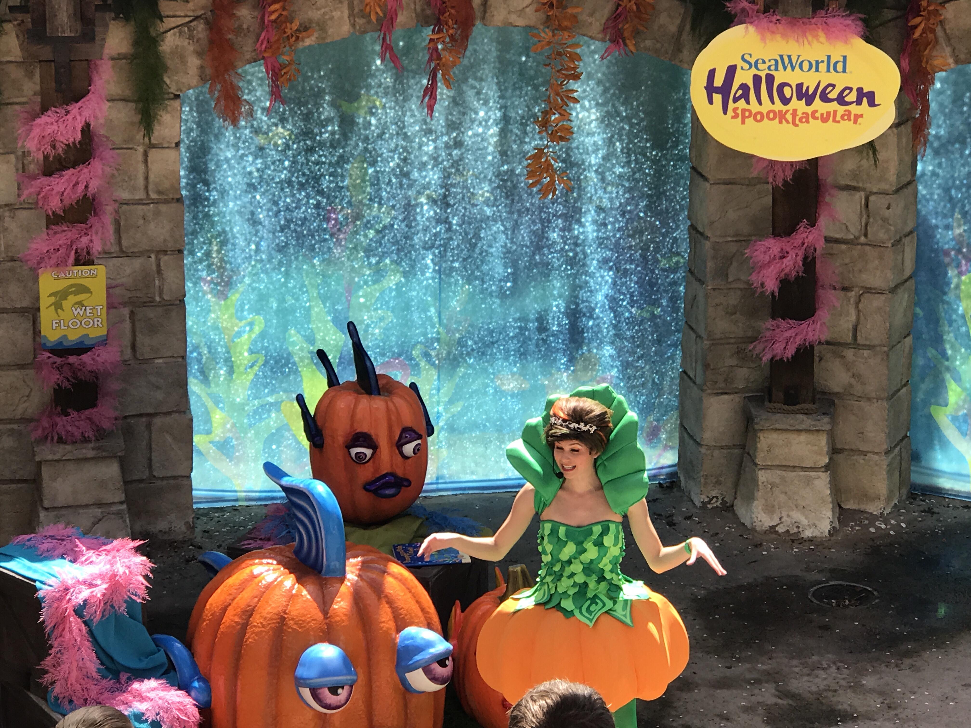 Halloween Spooktacular Seaworld.Behind The Thrills Seaworld Spooktacular Gives Candy Fun