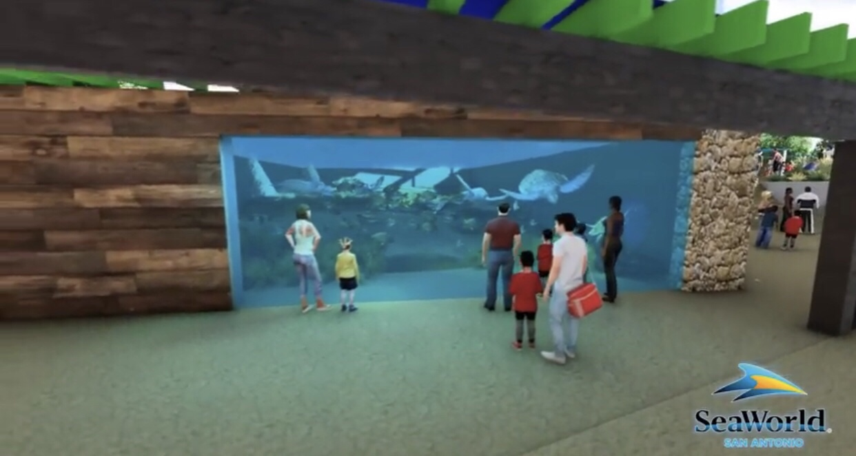 Behind The Thrills Seaworld San Antonio Bringing Turtle Reef And Rides To Life In 2019