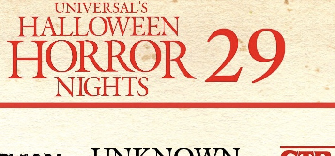 Universal Studios Halloween Horror Nights 2019.Behind The Thrills Map Out The Hhn 29 Rumors With The First