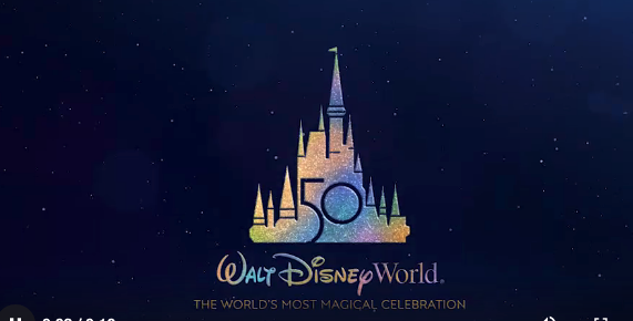 Image result for walt disney world 50th anniversary