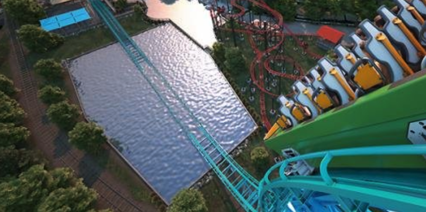 Behind The Thrills | Get wet with Aqua Man on the new Power