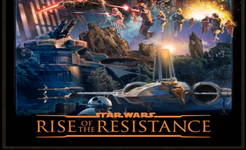 Behind The Thrills Video New Trailer For Star Wars Rise Of The Resistance Teases New Characters And Effects Behind The Thrills