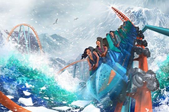 Ice Breaker review, seaworld orlando 2021