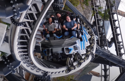 Jurassic World Velocicoaster Barrel Roll
