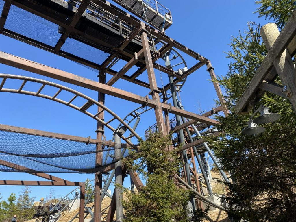 Mystery Mine Roller Coaster, New 2021 Changes