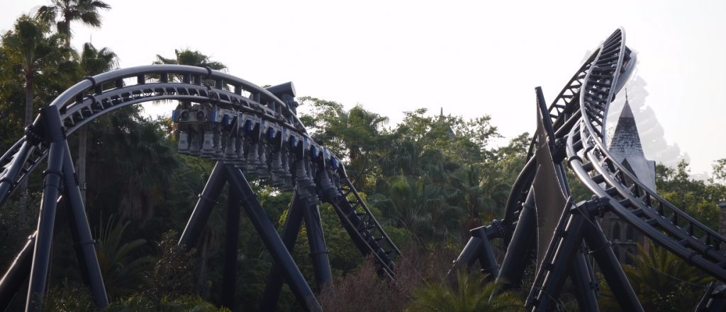 Stall and Twisted AirTime, VelociCoaster Islands of Adventure