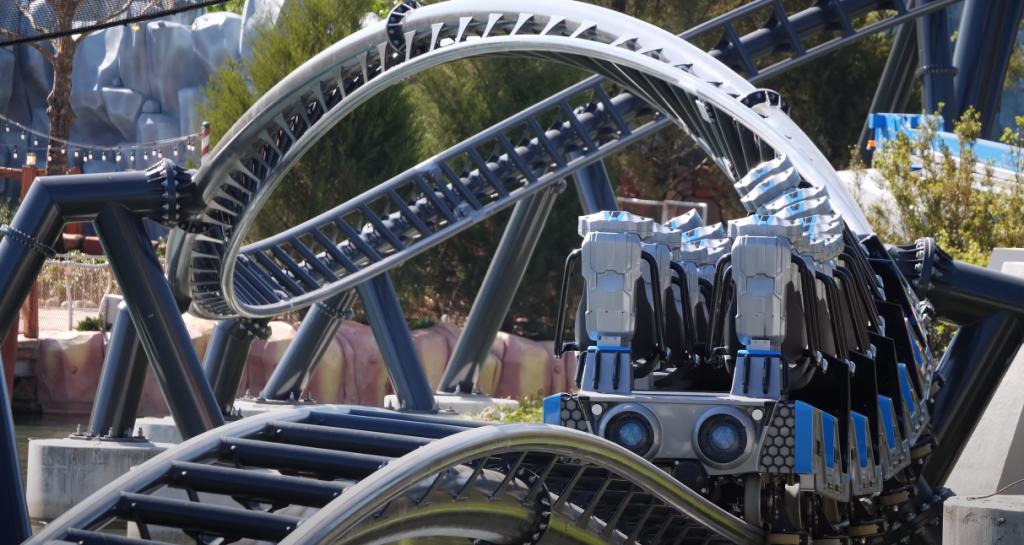 VelociCoaster Finale, Universal Studios Orlando, Florida, Islands of Adventure